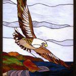 「鷲のカッパーパネル」